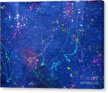 Sperm In Space Canvas Print