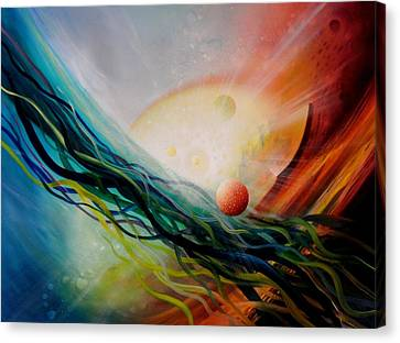 Sphere Gl2 Canvas Print by Drazen Pavlovic