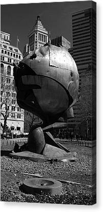 Sphere Manhatta Canvas Print by Christian Heeb