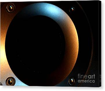 Canvas Print featuring the photograph Sphere by Newel Hunter