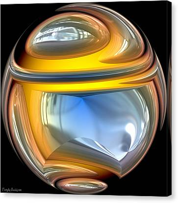 Sphere. Canvas Print by Tautvydas Davainis
