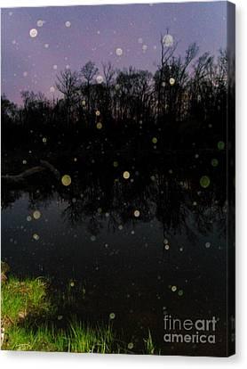 Spherical Sunrise Canvas Print