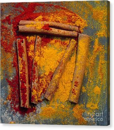 Spices Canvas Print by Bernard Jaubert