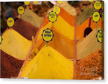 Canvas Print featuring the photograph Spicy by Leslie Leda