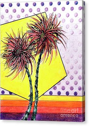 Spider Lilies Canvas Print