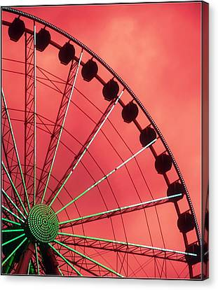 Spinning Wheel  Canvas Print by Karen Wiles