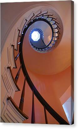 Spiral Stairway Canvas Print by Steven Ainsworth