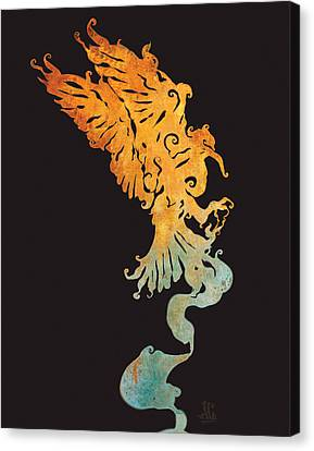 Spirit Bird Canvas Print by Jayson Green