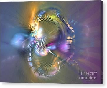 Spirit Of Nobility - Abstract Digital Art Canvas Print