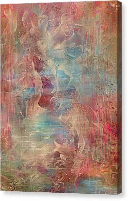 Spirit Of The Waters Canvas Print by Rachel Christine Nowicki