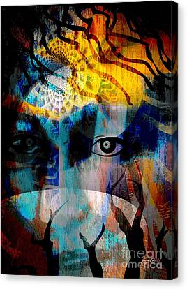 Spiritual Visitation Canvas Print by Fania Simon