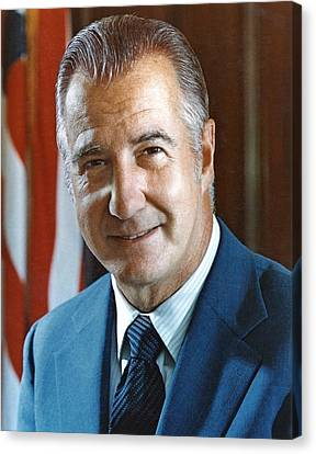 Spiro Agnew 39th Vice President Canvas Print by Everett