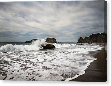 Canvas Print featuring the photograph Splash by Randy Wood