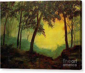 Splendid Solitude Canvas Print by Vic  Mastis