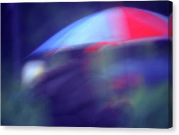 Splush Canvas Print by Richard Piper