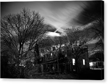 Spooky Night Canvas Print by Ken Stachnik