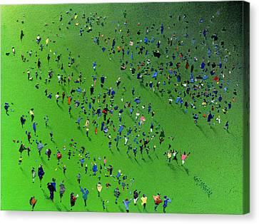 Sports Day Canvas Print by Neil McBride
