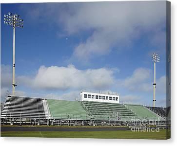 Sports Field Canvas Print by Skip Nall