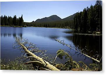 Sprague Lake Rocky Mountain National Park Canvas Print by Gary Batha