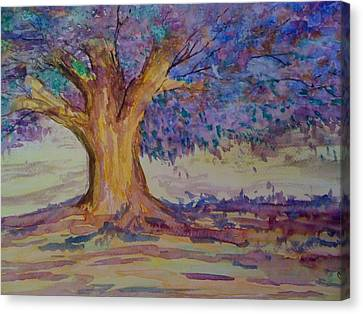Canvas Print featuring the painting Spring Beauty by Judi Goodwin
