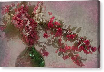 Spring Bouquet1 Canvas Print by Jeff Burgess