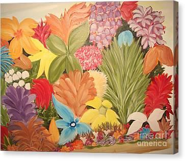 Spring Colours Canvas Print by Rachel Carmichael