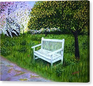 Spring Canvas Print by Gizelle Perez