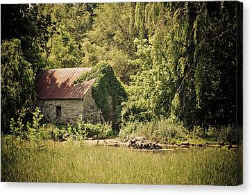 Spring House Canvas Print
