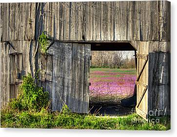 Spring In Kentucky Canvas Print by Larry Braun