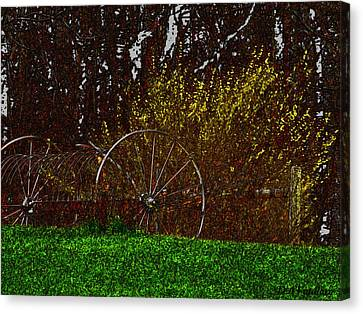Spring In The Country Canvas Print by Debra     Vatalaro