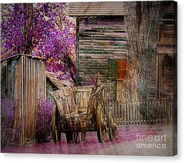 Canvas Print featuring the digital art Spring  by Irina Hays