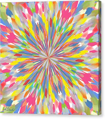 Spring Is Bursting Out Canvas Print by Alec Drake