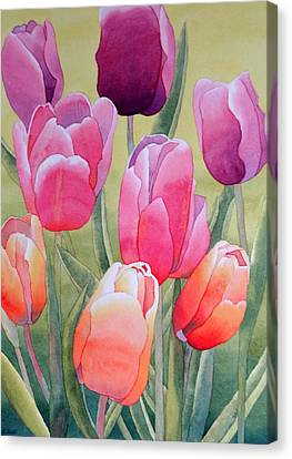 Canvas Print featuring the painting Spring by Laurel Best