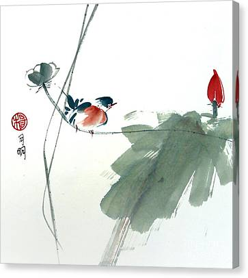 Spring Melody Canvas Print by Ming Yeung