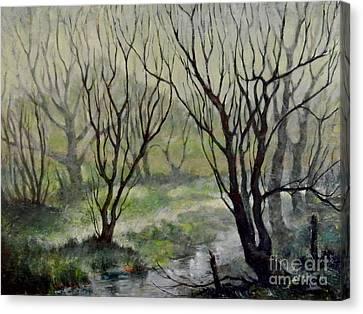 Spring Mist Canvas Print