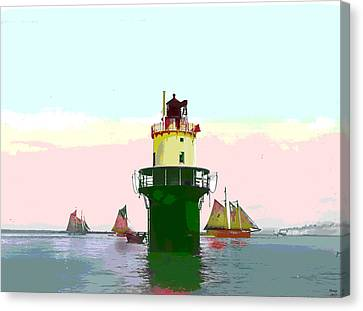 Spring Point Light Canvas Print