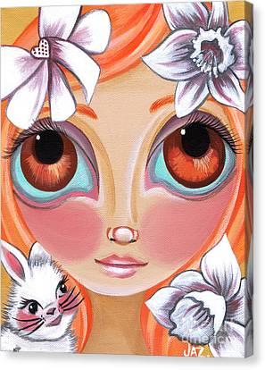 Spring Princess Canvas Print by Jaz Higgins