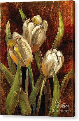 Spring Suprise Canvas Print by Vic  Mastis