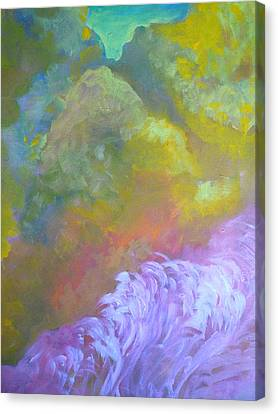 Springscape Canvas Print by George  Page