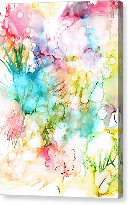 Springtime Blossoms Canvas Print by Christine Crawford