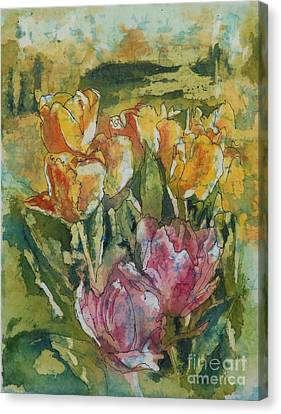Springtime Gifts Canvas Print by Gretchen Bjornson