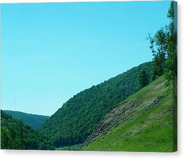 Springtime In Penna.mountains Canvas Print