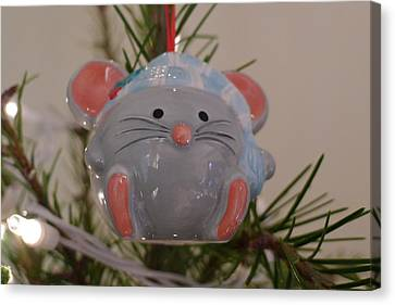 Canvas Print featuring the photograph Squeaky Xmas by Richard Reeve
