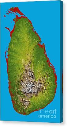 Sri Lanka Canvas Print by Stocktrek Images
