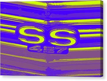 Ss 427 Super Sport Canvas Print by Chuck Re
