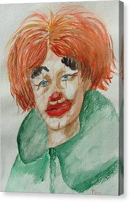 Ssend In The Clown Canvas Print
