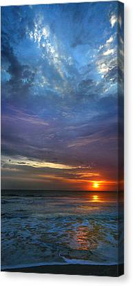Canvas Print featuring the photograph St. Augustine Sunrise by Rod Seel