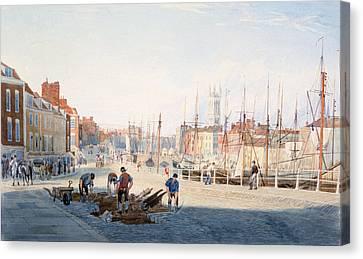 St Augustines Parade, Bristol, England Canvas Print by Photos.com