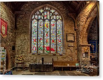 St Dyfnog Canvas Print by Adrian Evans