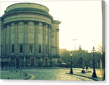St Georges Hall Liverpool Canvas Print by Georgia Fowler